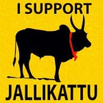 Jallikattu Support Demonstration in Sivakasi